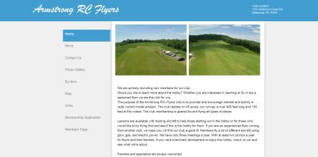 Armstrong RC Flyers Website