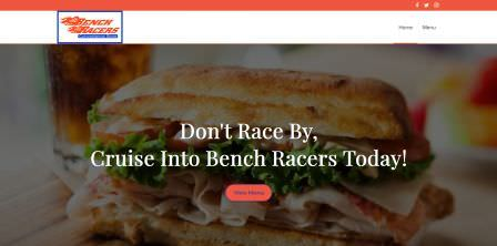 Bench Racers Convenience Store Website